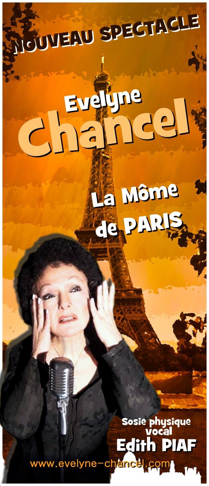 Nouveau spectacle la môme de Paris