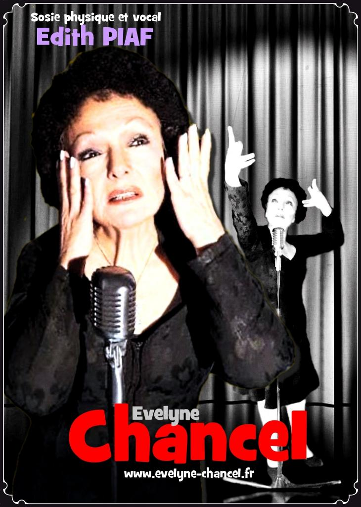 EVELYNE CHANCEL chante Edith Piaf